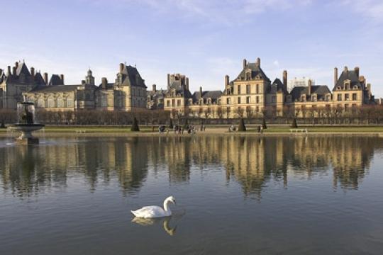 """Résultat de recherche d'images pour """"jardin du chateau de fontainebleau"""""""